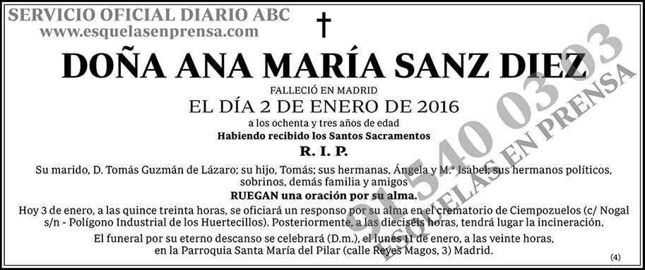 Ana María Sanz Diez